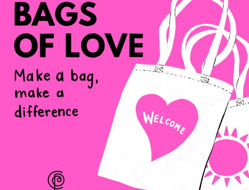 BAGS OF LOVE – COLOURING SHEETS
